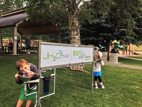 This year the Tin Cup Challenge will introduce new sustainability measures at the annual event including the JH20 water refill station that will be available at the Driggs City Center the day of the event. Bring your own water bottles and fill up for free!